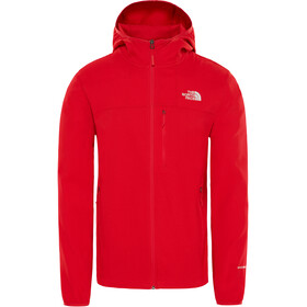 The North Face Nimble Hoodie Jacket Herren salsa red